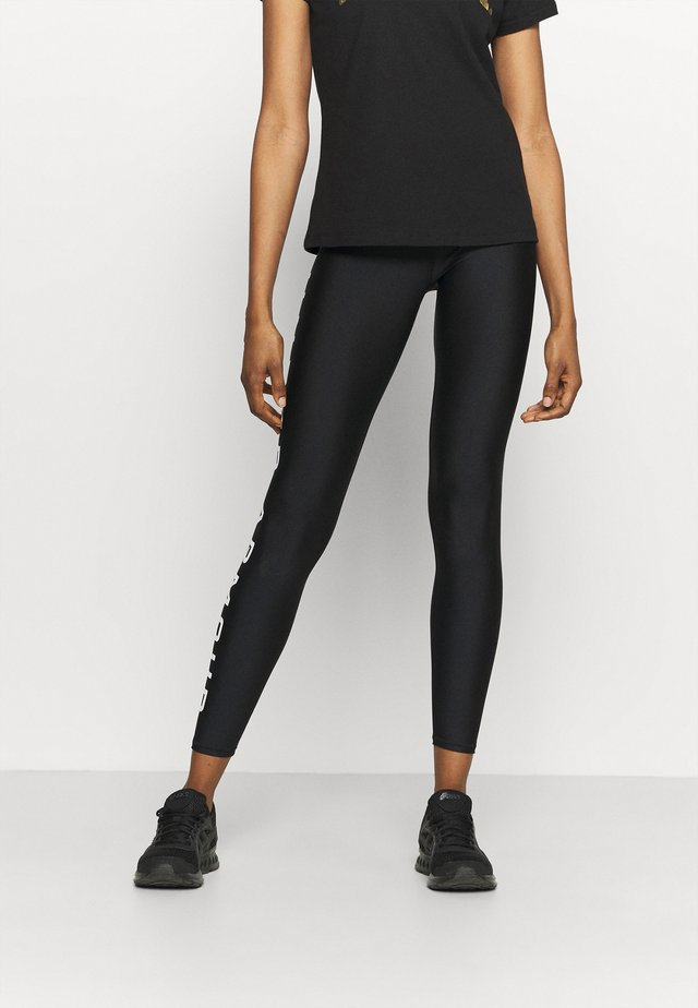 BRANDED LEG - Collant - black