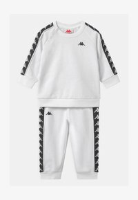 Kappa - VARRIS SET UNISEX - Trainingsanzug - bright white - 0