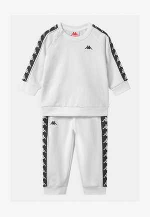 VARRIS SET UNISEX - Tracksuit - bright white