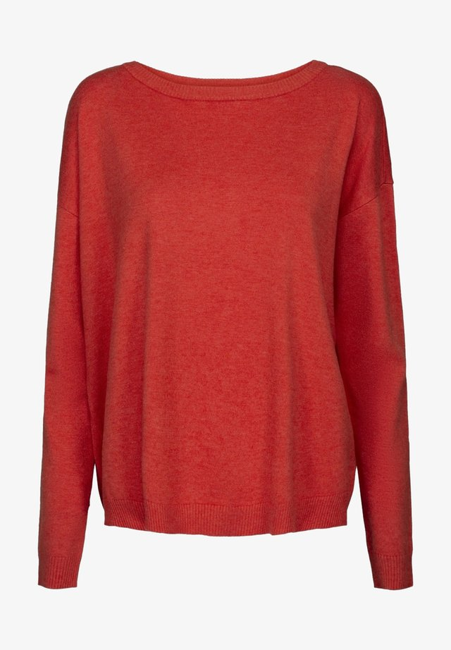 ELNE - Pullover - fiery red