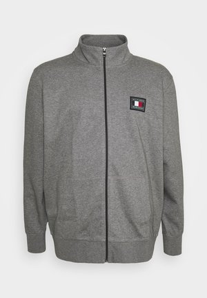 ICON ESSENTIALS ZIP THROUGH - Cardigan - grey