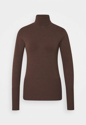 DOLLIE - Strikpullover /Striktrøjer - brown melange