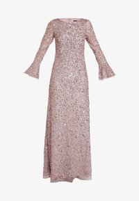 Adrianna Papell - BEADED LONG DRESS - Occasion wear - cameo - 4