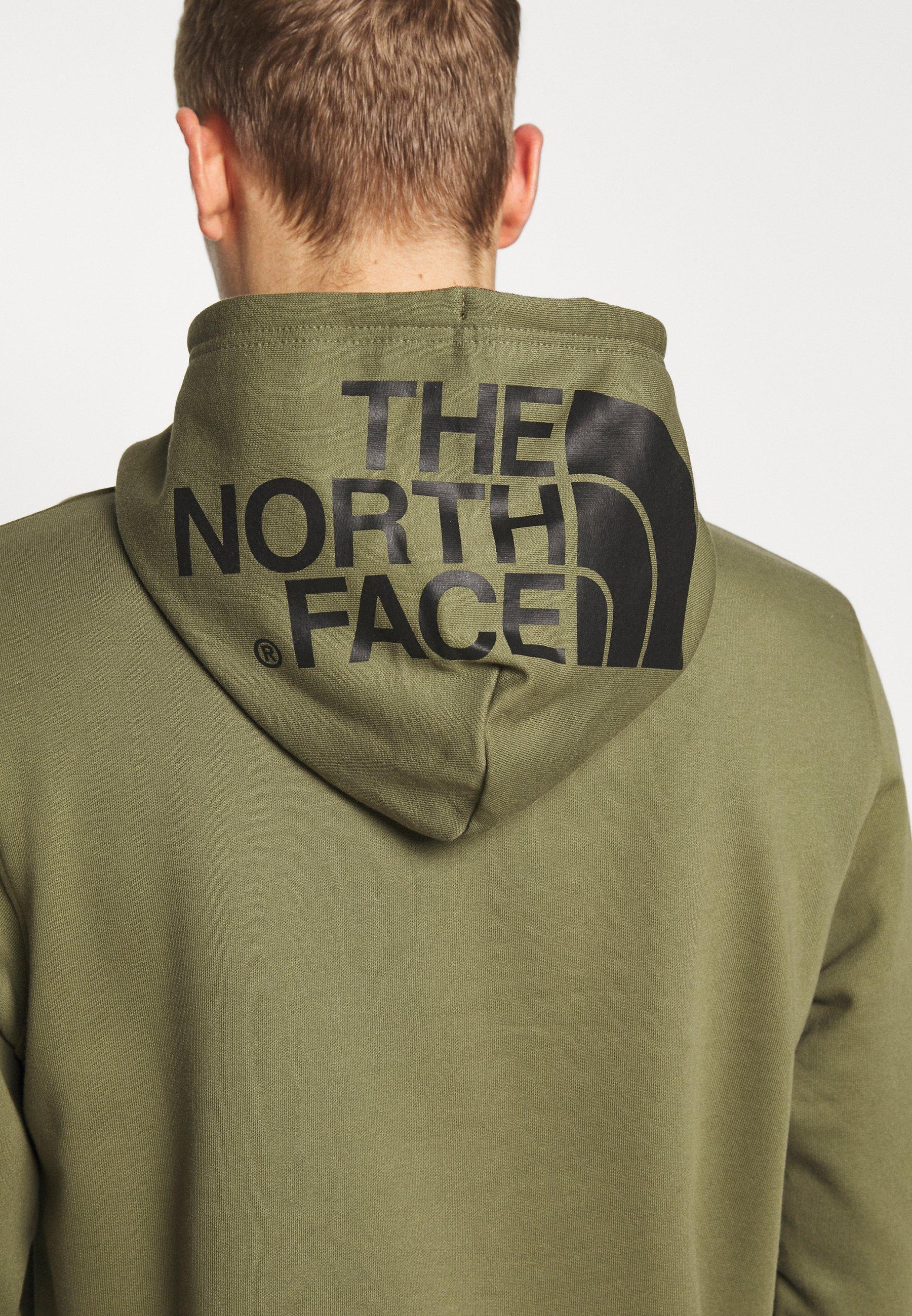 The North Face Sweat à capuche - burnt olive green