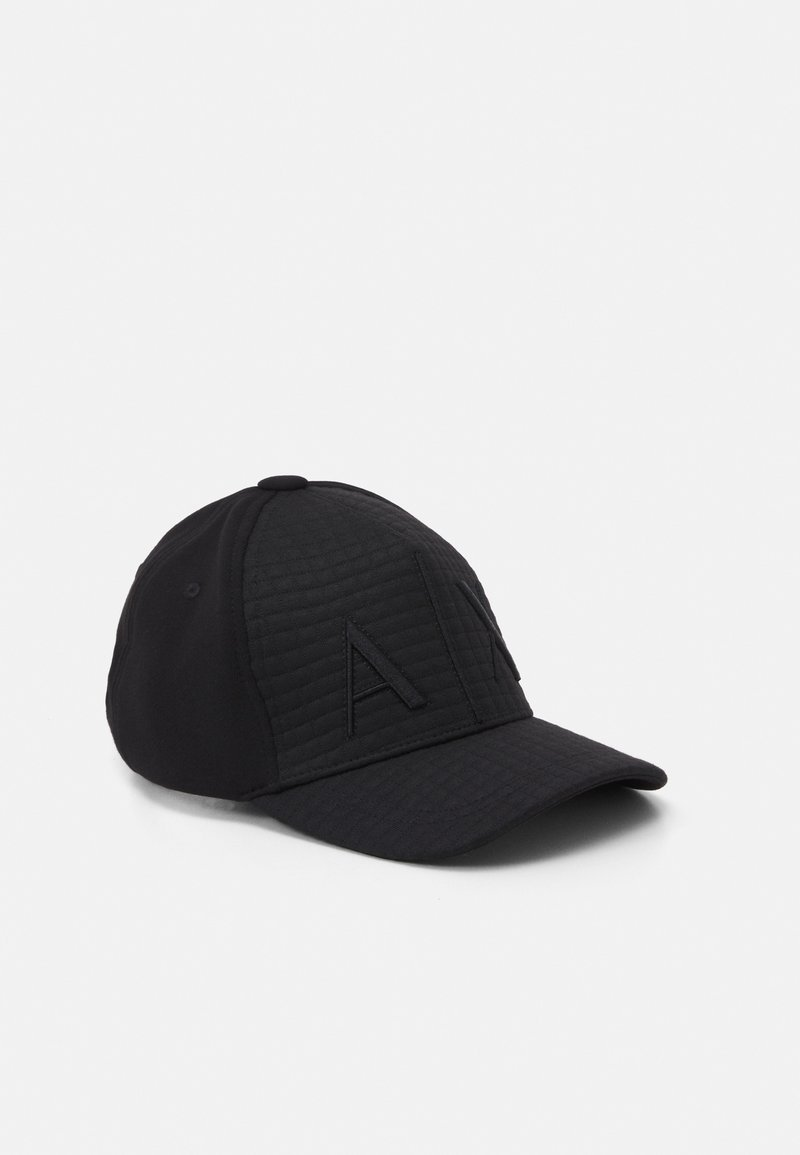 Armani Exchange - BASEBALL HAT UNISEX - Keps - black