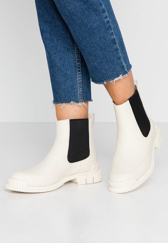 PIX - Classic ankle boots - light beige