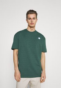 Kronstadt - MARTIN RECYCLED 2 PACK - Basic T-shirt - navy/olive - 1