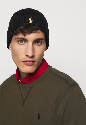 HAT - Beanie - black/gold-coloured
