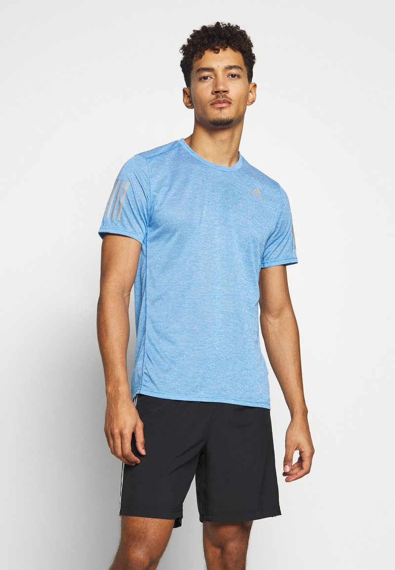 adidas Performance - OWN THE RUN TEE - Triko s potiskem - globlu