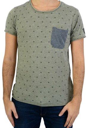 LUKE - T-shirt imprimé - green