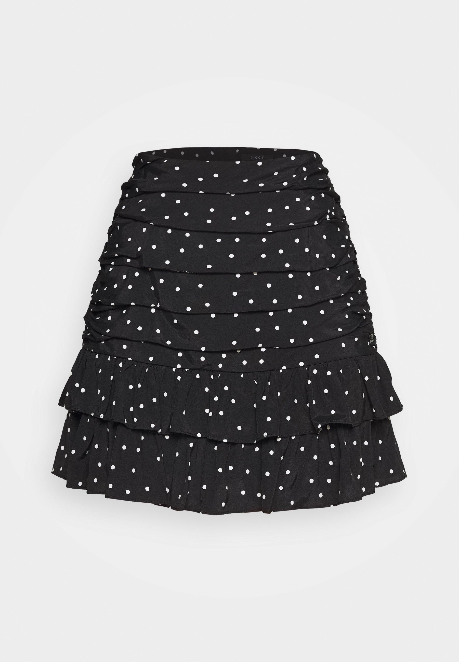 Mujer POLKA SKIRT - Minifalda
