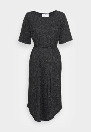 BEACH DRESS SOLID - Jersey dress - black