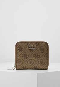 Guess - CATHLEEN SMALL ZIP AROUND - Wallet - brown - 0