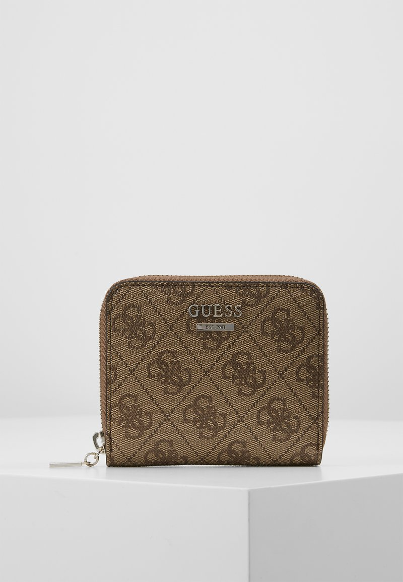 Guess - CATHLEEN SMALL ZIP AROUND - Wallet - brown