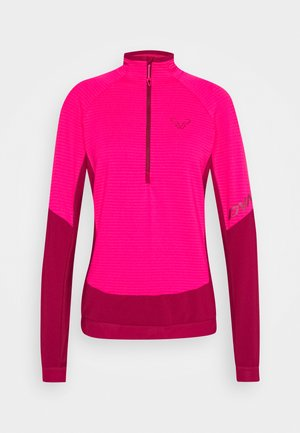 LIGHT ZIP - Fleece jumper - flamingo