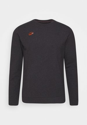 Sweatshirt - black melange
