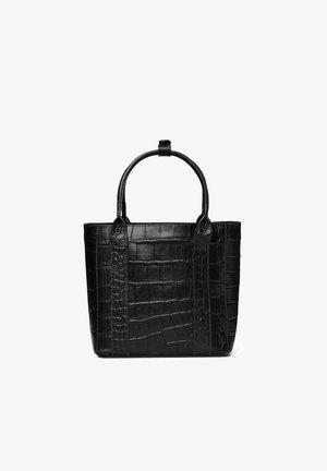 Tote bag - black croco