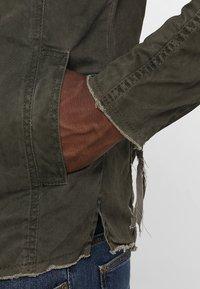 Be Edgy - BE THEO PAT - Denim jacket - khaki - 3