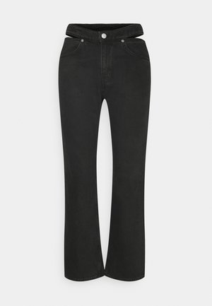 JOCELYN - Straight leg jeans - almost black