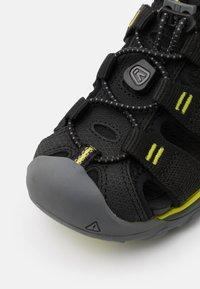 Keen - NEWPORT NEO H2 UNISEX - Walking sandals - black/evening primrose - 5