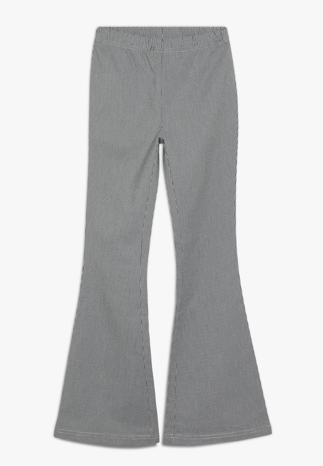 AURORA FLARE PANT - Trousers - black/white