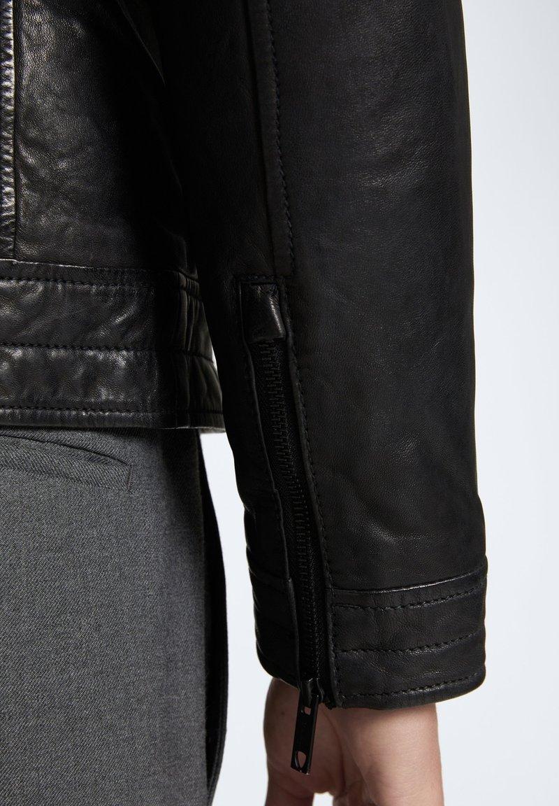 Strellson ROVIO - Lederjacke - schwarz UEvXP9