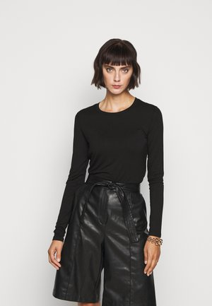 MULTIE - Long sleeved top - schwarz