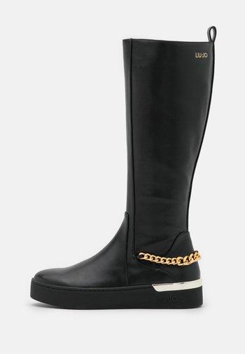 SILVIA  - Platform boots - black