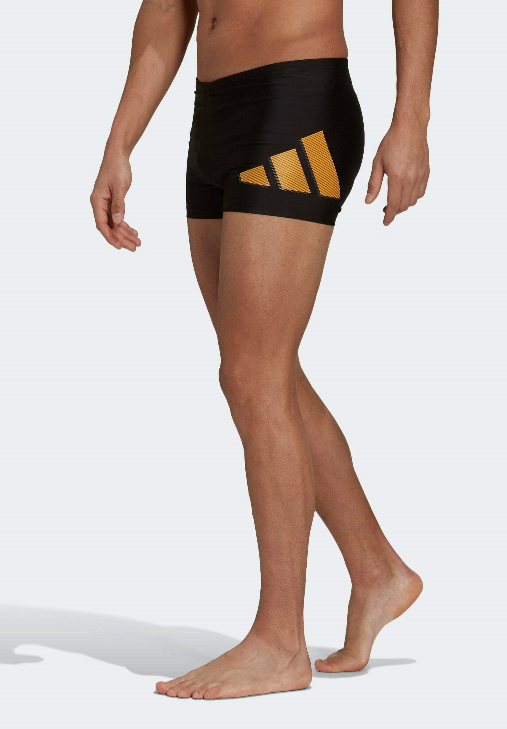 Men 3 BARS BX SWIM SPORTS MUST HAVES PRIMEBLUE NYLON BOXER TRUNKS - Swimming shorts