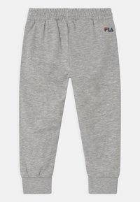 Fila - PATRI LOGO UNISEX - Trousers - light grey melange - 1