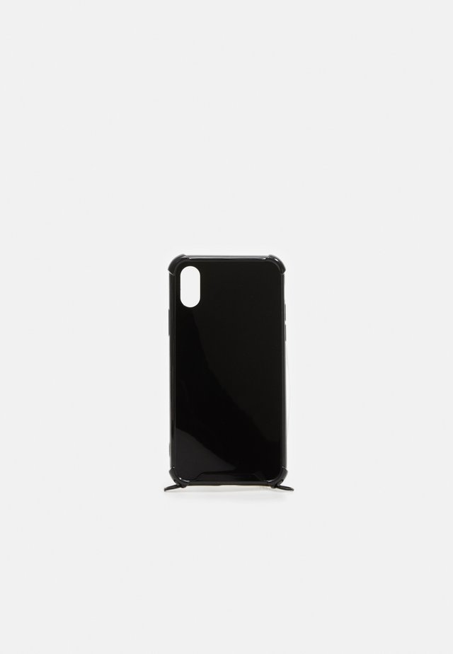 CASE NECKLACE iPHONE X XS - Obal na telefon - black