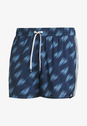 GRAPHIC SWIM SHORTS - Swimming shorts - blue