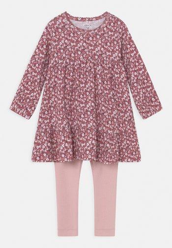 NBFKAISA DRESS SET - Leggings - deco rose