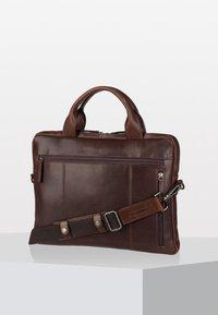 Leonhard Heyden - ROMA - Briefcase - brown - 2