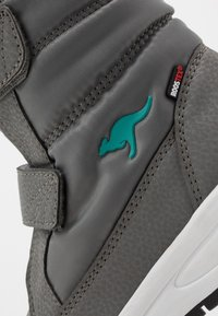 KangaROOS - K-FLOSSY RTX - Winter boots - steel grey/turquoise - 2