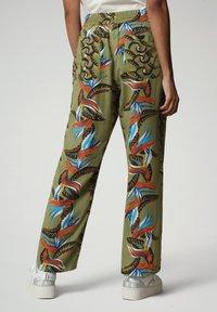 Napapijri - MELOR - Trousers - multi flower - 2