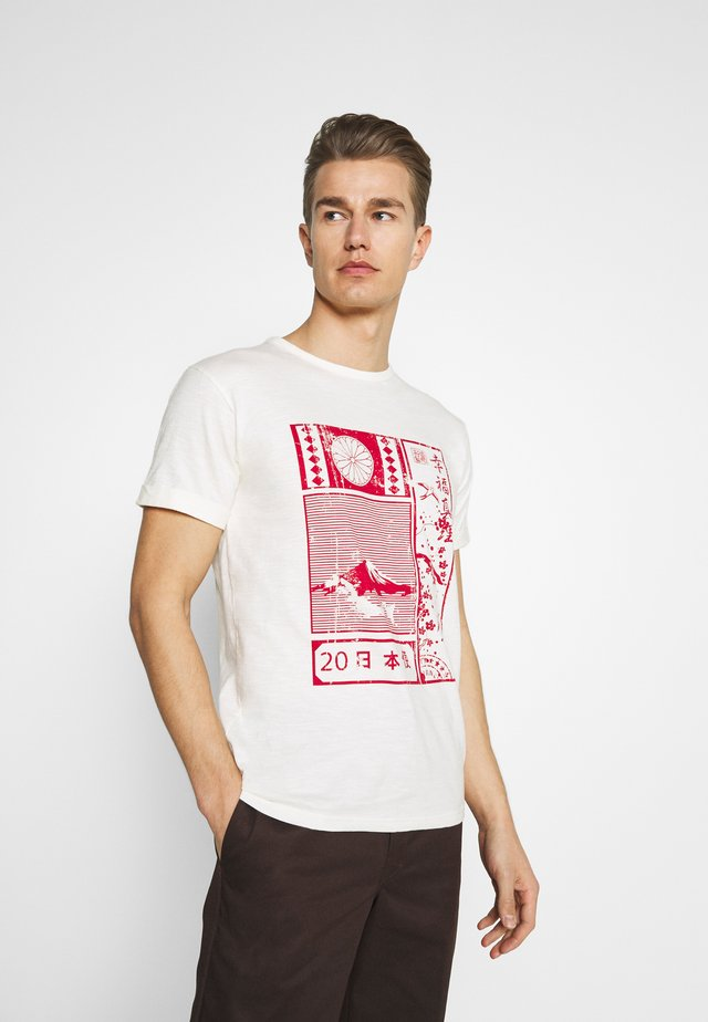 GALINDO - T-shirt med print - marshmellow