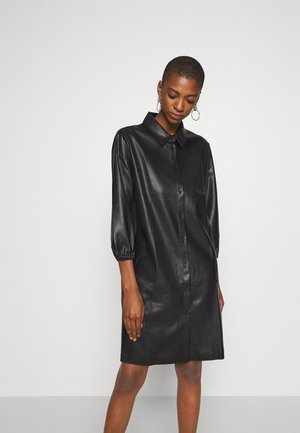 WELOSA - Robe chemise - black