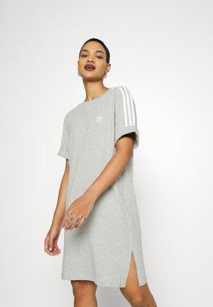 TEE DRESS - Jersey dress - medium grey heather