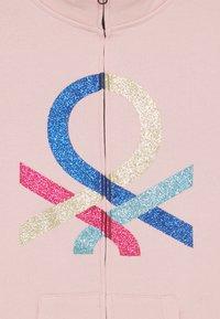 Benetton - BASIC GIRL - Zip-up hoodie - light pink - 2