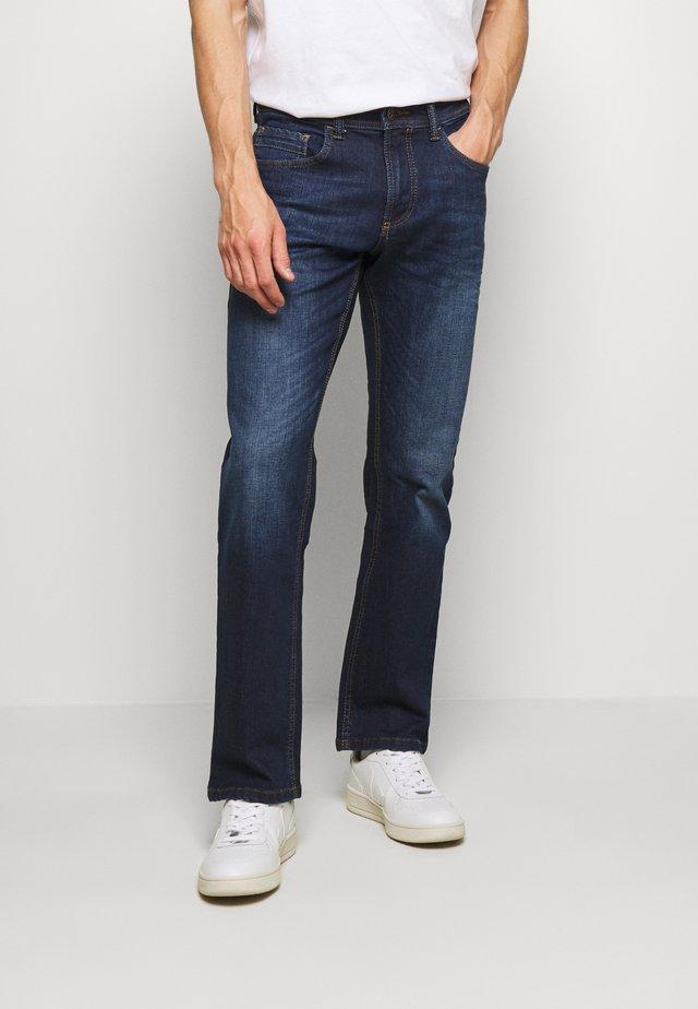Straight leg -farkut - dark blue