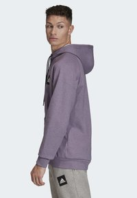 adidas Performance - MUST HAVES STADIUM HOODIE - Hættetrøjer - purple melange - 3