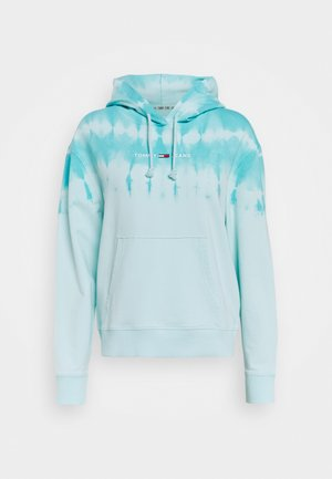 SUMMER TIE DYE HOODIE - Hoodie - light blue