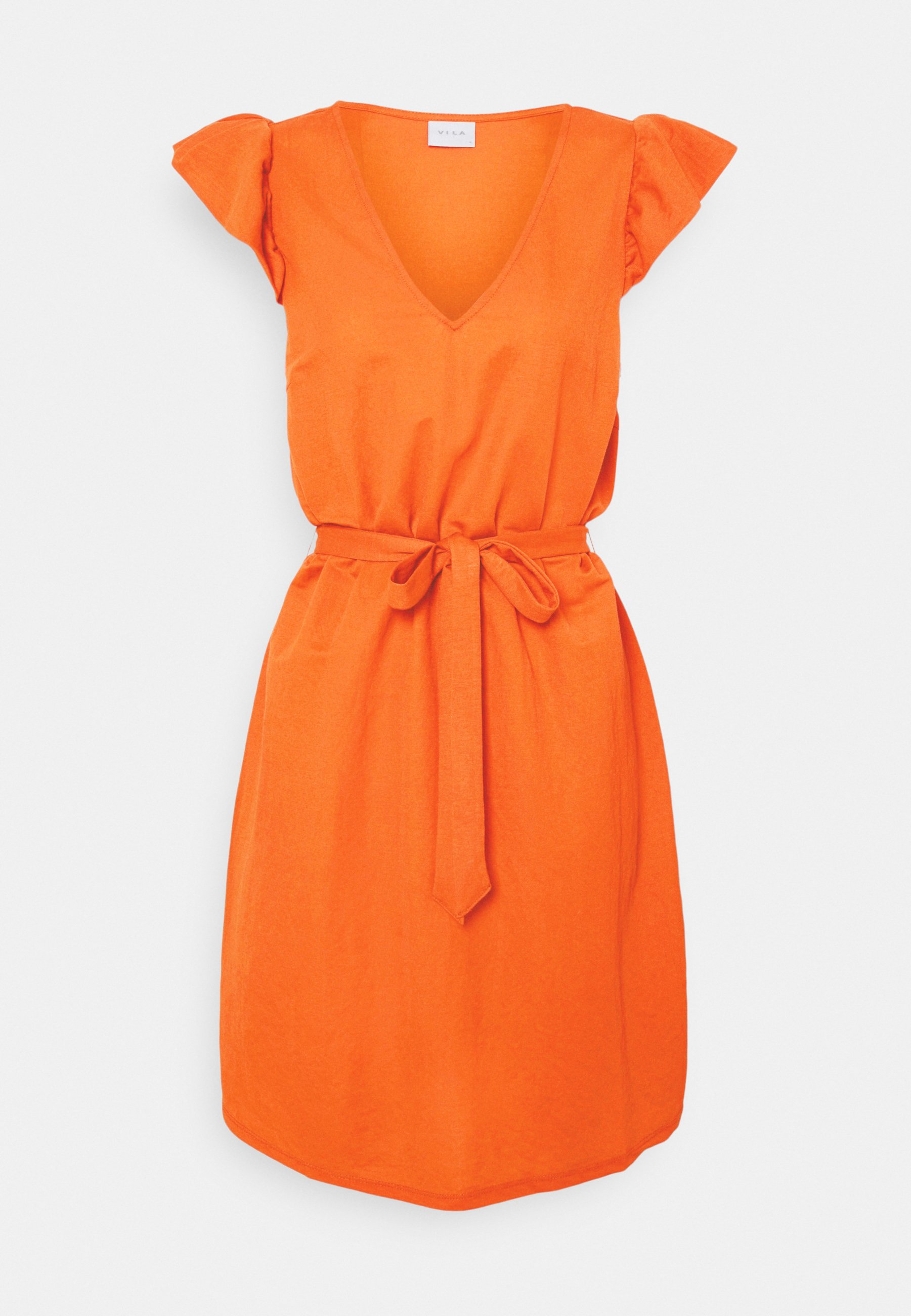 Women VIWANDERA  V NECK SHORT DRESS - Day dress