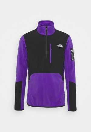 GLACIER PRO 1/4 ZIP PEAK  - Sweat polaire - peak purple/black