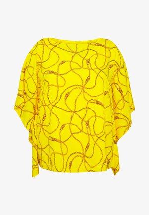 ANIELKA SHORT SLEEVE SHIRT - Blus - dandelion fields multi