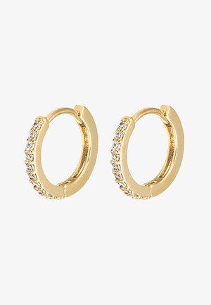 HUGGIE HOOP - Earrings - gold-coloured