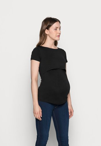 NURSING 2er PACK - Basic T-shirt - T-shirt basic - dark blue/black
