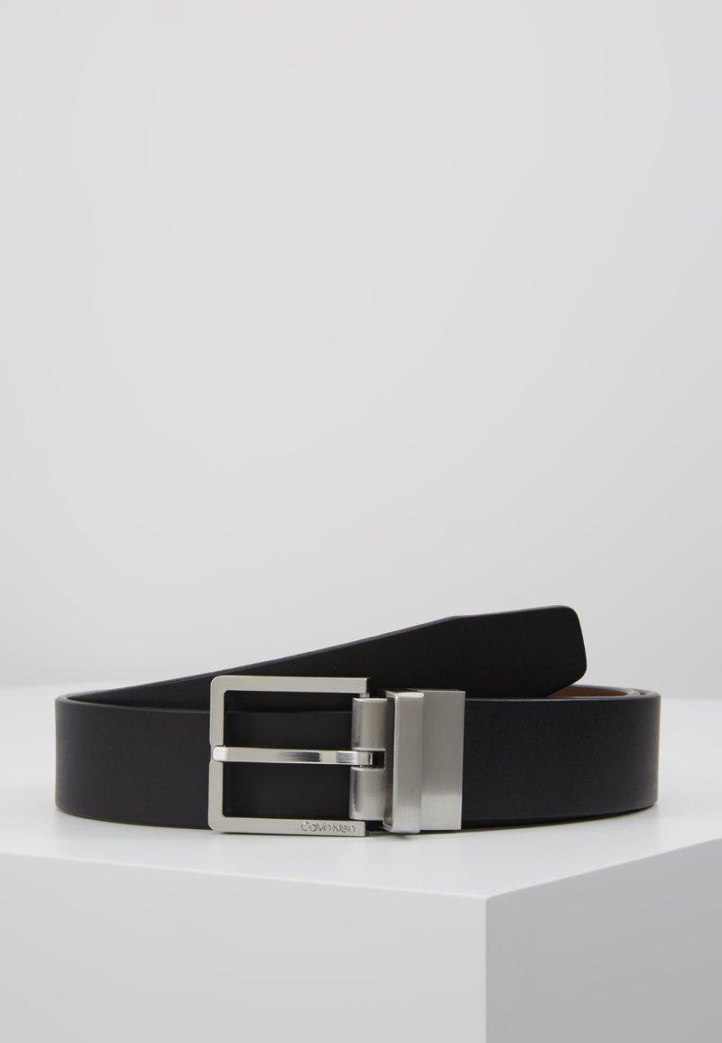 Calvin Klein - CASUAL BELT - Pásek - black