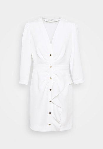TEANA - Shift dress - ecru